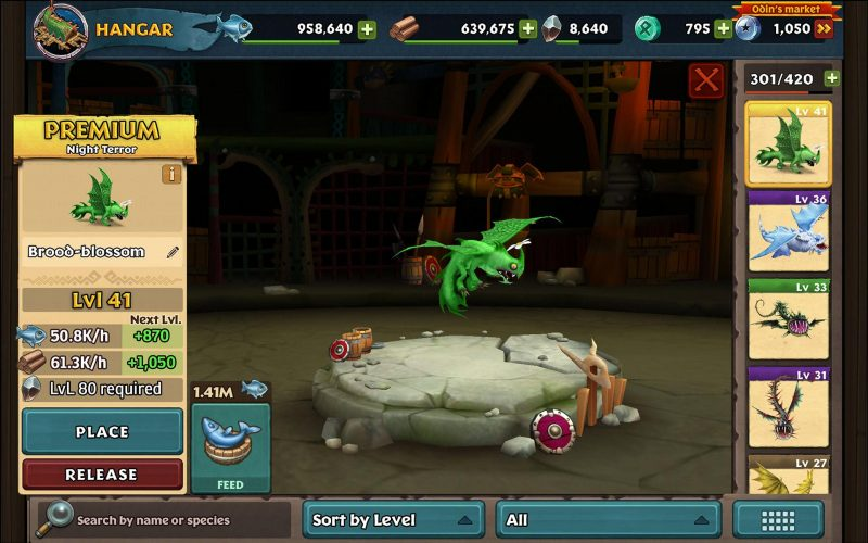 Dragons: Rise of Berk –  General Game Information – Build your Park