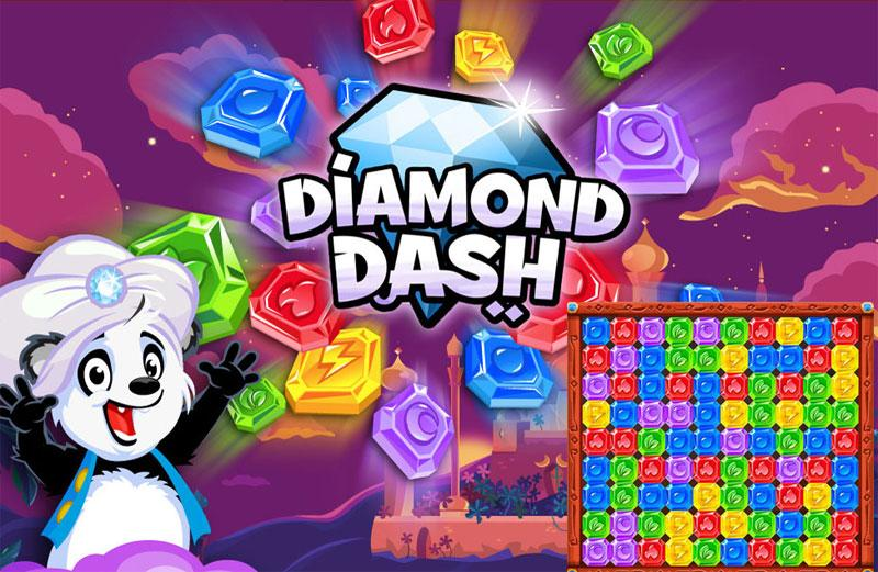 How to play Diamond Dash?
