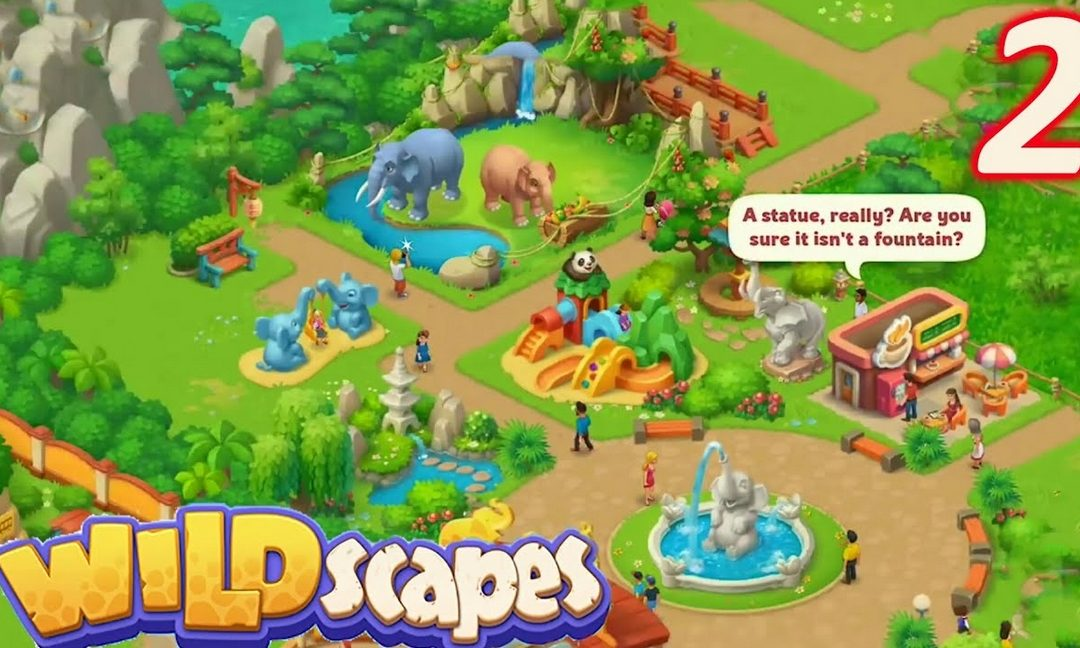 Wildscapes: The zoo, animals, and decorations - Walkthroughs