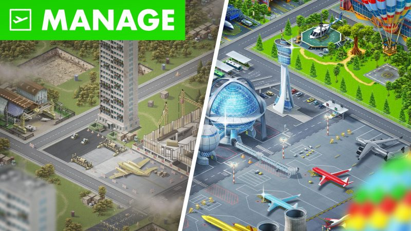 Airport City: How can I launch a rocket with my neighbor?